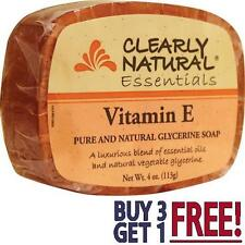 Clearly Natural - Glycerine Bar Soap Vitamin E with essential oils - 4 oz.