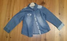 Girl's Next Blue Jeans Shirt - Age 6 Years