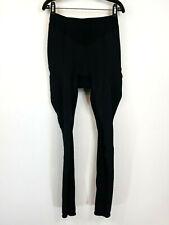 Shimano Cycling Biking Fleece Lined Compression Pants Black Mens 2XL XXL