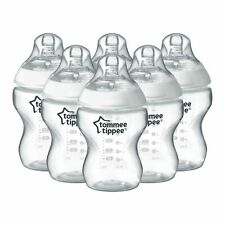 Tommee Tippee Closer to Nature 260ml/9oz Bottles X6