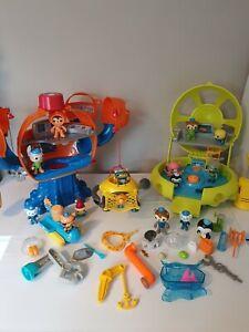 Octonauts Octopod Bundle Playset Octolab Sound & Lights 15 Figures Accessories.