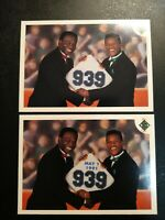 FACTORY ERROR LOT 939 STEALS LOU BROCK RICKEY HENDERSON 1991 UPPER DECK #636