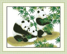 """NEW Cross Stitch Kits""""panda"""""""