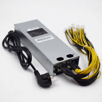 1600W Platinum Antminer APW3 Mining Power Supply For Antminer Miner S9/S7/L3/D3