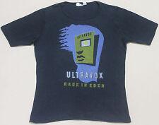 VINTAGE 1981 ULTRAVOX PUNK ROCK NEW WAVE TOUR CONCERT PROMO T-SHIRT JOY DIVISION