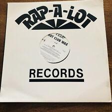 Rap-A-Lot Hot Club Wax Tela Vinyl
