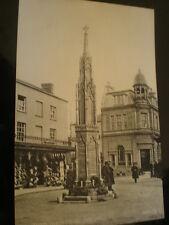 More details for valentines bromotype printed postcard war memorial yeovil c1920s