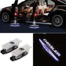 2x Car Door Logo Ghost Shadow Projector Lights For 2005-2016 Chrysler 300c