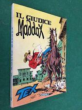 TEX GIGANTE n.185 GIUDICE MADDOX L.350 Daim Press (ITA 1° Ed 1976) Fumetto MB