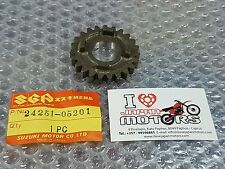 SUZUKI SP100 SP 125 DR 100 DR125 GN125 NEW GENUINE GEAR 5TH NT:23 24251-05201