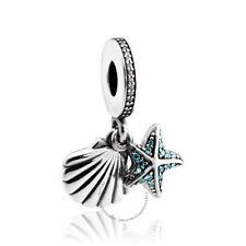 958f32ac4 NEW Authentic Pandora Tropical Starfish & Sea Shell Mint CZ Charm 792076CZ