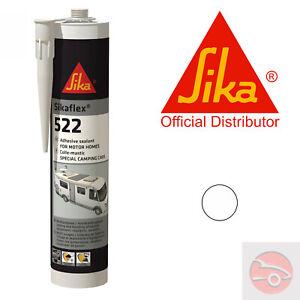 Sikaflex 522 - White - Adhesive Sealant - Caravan - Sika 512 - EXPIRY: 05/22