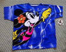 Nwt Os Rare Vtg Disney Americas Favorite T Shirt Swim Cover up Tunic Minnie