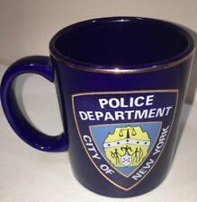 NYPD City Of New York Police Department Coffee Mug