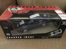 Sharper Image Turbo Remote Control Drifter Car Fully Functional Racing Blue New
