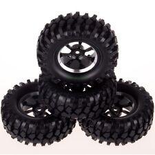 1:10 model Climbing Rock Crawler Rally car Tires & Aluminum Wheels Rims 107-7006