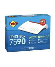 AVM FRITZ!box 7590 High End WLAN/DECT/VDSL Modem Router 4x4 MU-MIMO Media Server