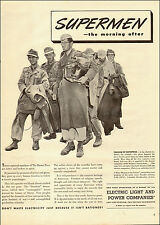 1952 vintage WW2 AD Independent Light and Power Companies  German POWs -011515