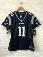 Nike New England Patriots NFL Women's Home Jersey - Large - Edelman 11 - New