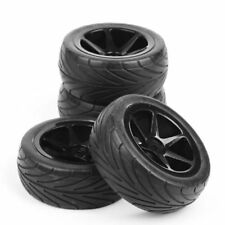 4X90mm RC Buggy Tire Wheel Rims 12mm Hex Set For HSP HPI 1/10 On Road Racing Car