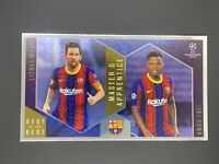 2020-21 Topps UEFA Soccer Best of the Best Master and Apprentice Messi Fati