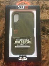 NEW! Griffin Survivor iPhone X Case Strong 5.11 Tactical Protective Slim Green!