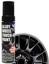 E-Tech Car Alloy Wheel Chip Kurb Damaged Repair Touch Up Paint Pen Stick - BLACK