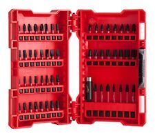 Milwaukee Shockwave Impact Drill & Driver  Bit Set 56 Piece 4932430907 New