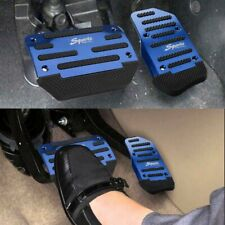 Blue Non-Slip Automatic Gas Brake Foot Pedal Pad Cover Car Accessories Universal