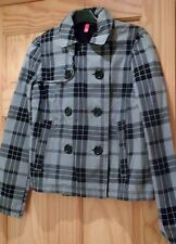 H&M Waist Length Checked Coats & Jackets for Women