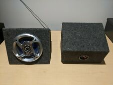 """Pioneer 5.25"""" 3-way speakers in sealed MDF box (portable, remote speaker)"""