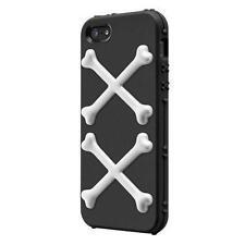 Étuis, housses et coques avec clip noirs en silicone, caoutchouc, gel pour téléphone mobile et assistant personnel (PDA) Apple
