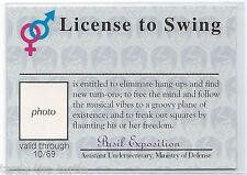 Austin Powers The Spy Who Shagged Me Trading Cards  License to Swing Card