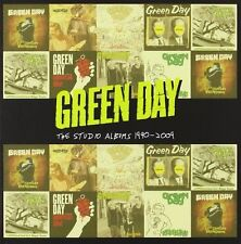 "Green Day ""The Studio Albums 1990-2009"" 8 CD Box (New & Sealed) U.K.Free Postage"