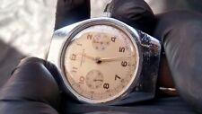 Vintage Chronograph Watch VENUS 188 CHRONOGRAPHE SUISSE Tonneau Oversized GWO