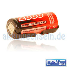 2000 mAh Batteria NiMH Ricambio TRIUMPH Oral-B OralB 5000 9000 9500 9900 42mm