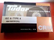 CASSETTE TAPE BLANK SEALED - 1 x TUDOR CR 90 (type II)  RARE