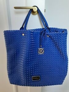 Christian Lacroix Blue Bag