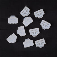 10Pcs Ethernet Hub Port RJ45 Anti Dust Cover Cap Protector Plug WhiteljJ Gw