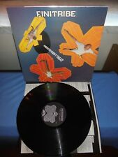 """Finitribe """"An Unexpected Groovy Treat"""" LP ONE LITTLE INDIAN 1992 UK - INNER"""