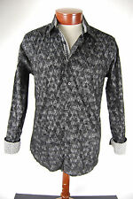 Platini Men's Long Sleeve Button Up Shirt - Medium - New