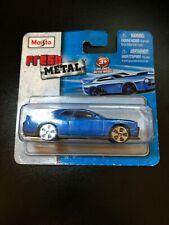 Maisto Fresh Metal Die-Cast Vehicles ~ 2008 Dodge Challenger SRT8 (Blue)