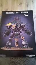 WARHAMMER 40K IMPERIAL KNIGHT WARDEN NEW & SEALED