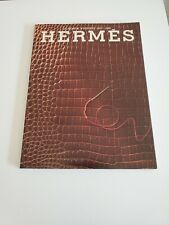 Le Monde D' Hermes 1987-1988 150th Anniversary Special Edition Catalog NEW