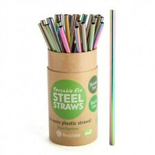 Reusable Steel Straw - Rainbow - Singular