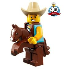 Lego 71021 Minifigures Series 18 Minifigure Man with Costume of Cowboy - New