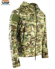 Kombat Army BTP Camo Tactical Recon Fleece Hoodie Jacket works Multicam - Large