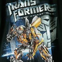 Transformers Dark of The Moon Movie Mens XL Black T-Shirt Bumblebee