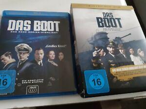 Blu Ray Das Boot - Staffel 1+2 aus Sammlung