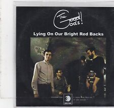 The Good Gods-Lying On Our Bright Red Backs Promo cd single
